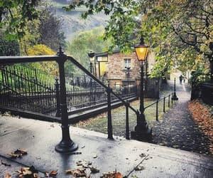 autumn, fall, and edinburgh image