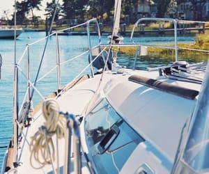 boats, cape cod, and coastal image