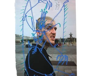 lilpeep, aesthetic, and draw image