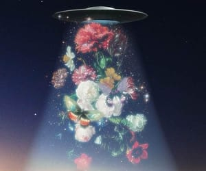 flowers, aesthetic, and alien image