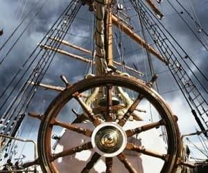 boat, sailing, and ship image
