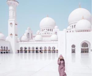 abu dhabi, mosque, and wanderlust image
