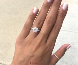 diamond, wedding ring, and engagement ring image