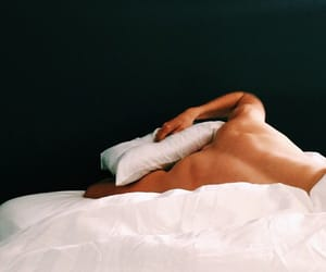 boy, love, and bed image