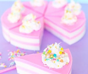 pink, cake, and dessert image