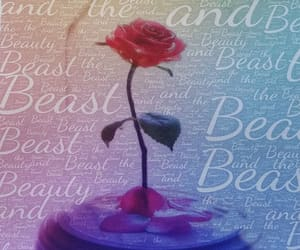 art print, fine art, and beauty and the beast image