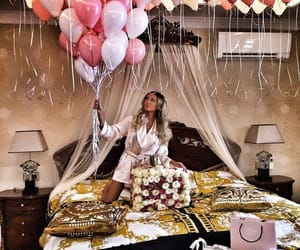 luxury, birthday, and balloons image
