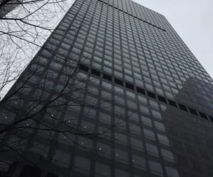 black, building, and cold image