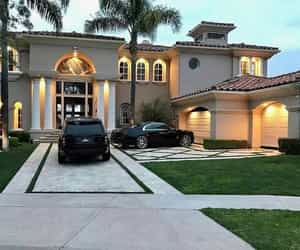 beautiful, goals, and mansion image