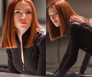 black widow, Scarlett Johansson, and nat image