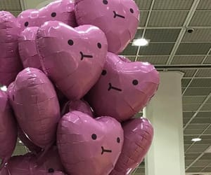 balloons, cute, and aesthetic image
