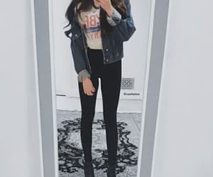 clothes, girls, and jacket image