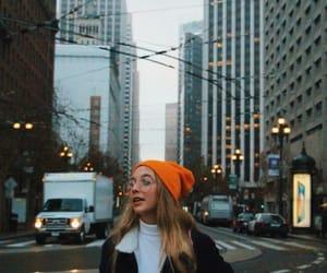 aesthetic, city, and orange image