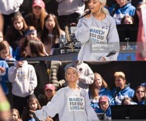 ariana, arianagrande, and marchforourlives image