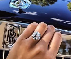 diamond, ring, and car image