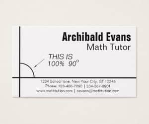 business card, education, and humor image