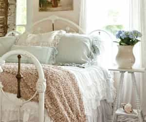 bedroom, feminine, and home image