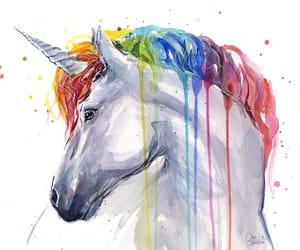 unicorn and art image