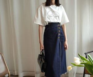 asian fashion, fashion, and minimal image