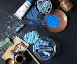 blue and art image