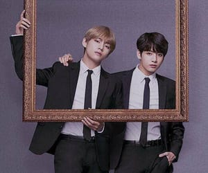 jungkook, taehyung, and vkook image