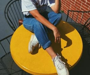 90s, retro, and mom jeans image