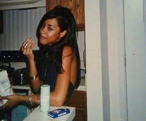 aaliyah, girl, and throwback image