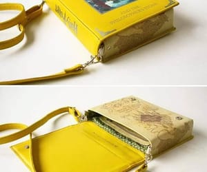 bag, book, and harry potter image