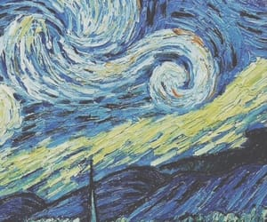 wallpaper, van gogh, and art image
