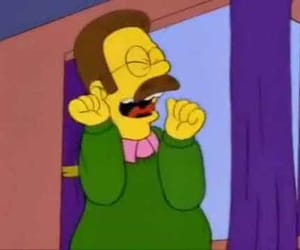 flanders, the simpsons, and simpsons image