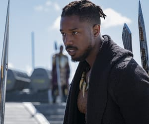 black panther and michael b jordan image