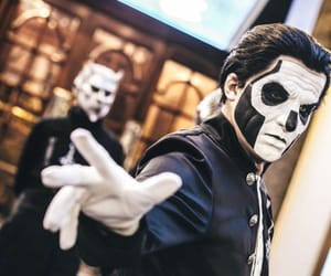 ghost, ghost band, and papa emeritus image