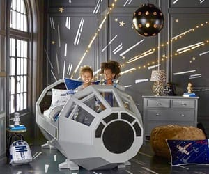 star wars, kids room, and home deco image