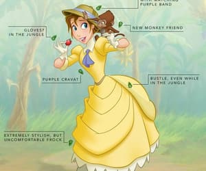 disney, tarzan, and disneyprincess image