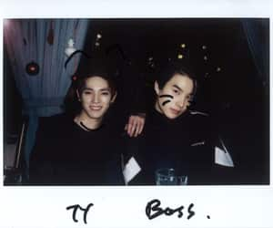jungwoo, taeyong, and nct image