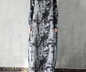 etsy, linen dress, and long dresses image