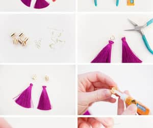 diy, earrings, and gift ideas image