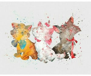 aristocats, art, and disney image