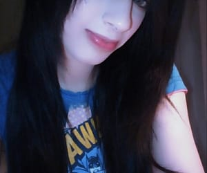 blackhair, hair, and scenegirl image