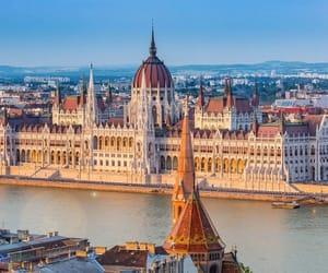 budapest, europe, and hungary image