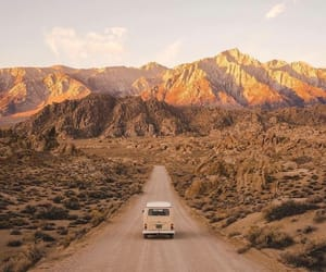 mountains, adventure, and car image