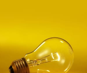 yellow, light, and aesthetic image
