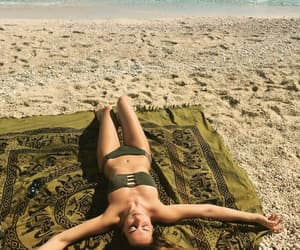 beachwear, bikini, and fashion image