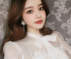 korea, beauty, and model image