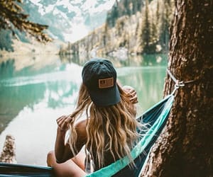 forest, spring, and travel image
