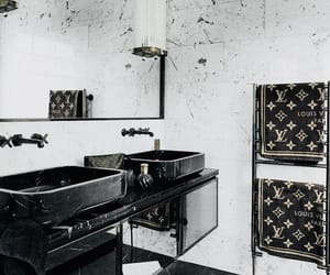 bathroom, luxury, and Louis Vuitton image