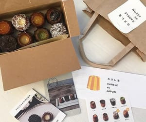 chocolate, korean food, and aesthetic beige image