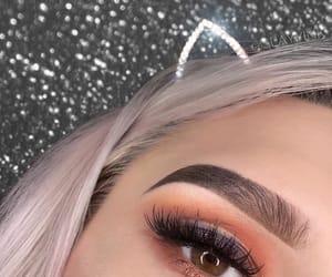 beautiful, eyeliner, and makeup image
