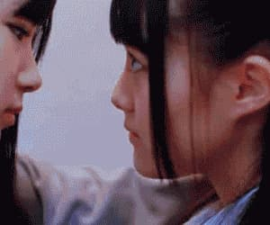 gif, lesbian, and asian image