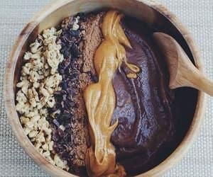 food, acai, and bowl image